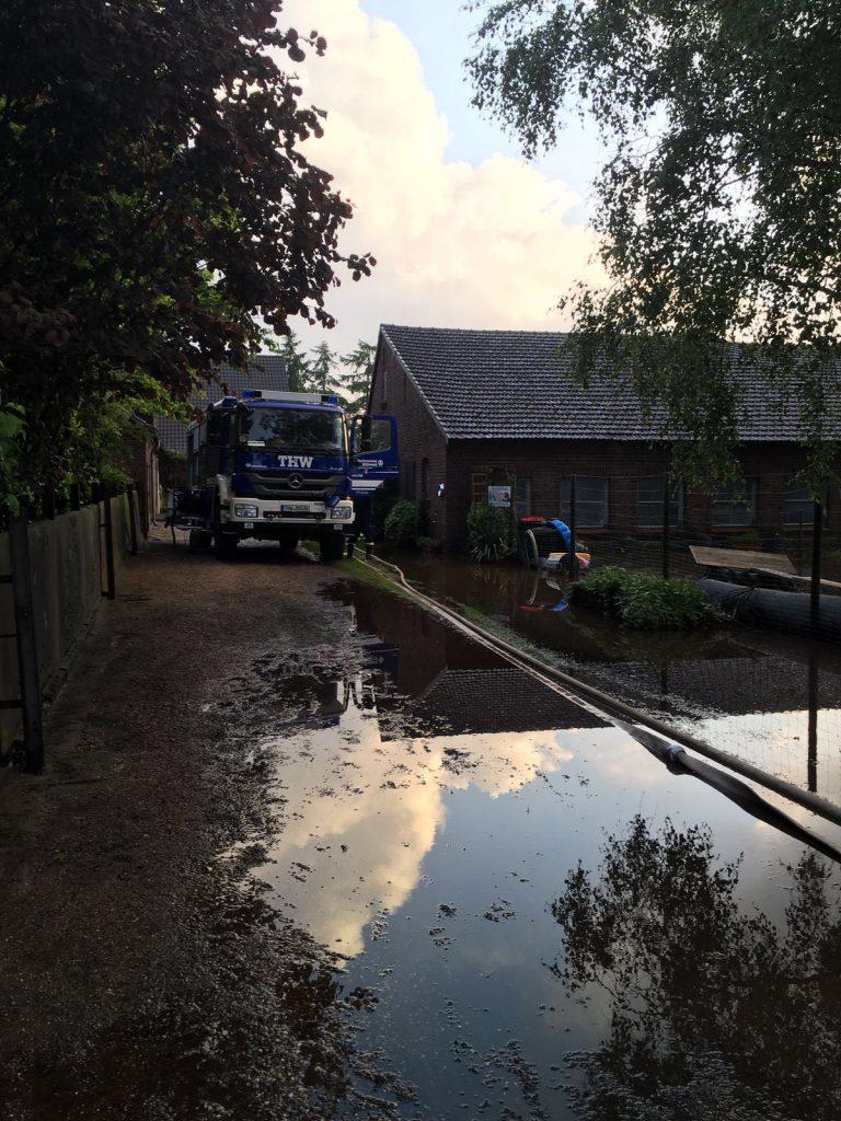Hochwasser Hamminkeln